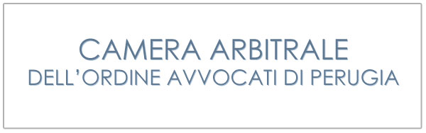 camera arbitrale dell'ordine