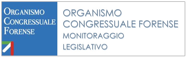 OCF - Monitoriaggio Legislativo